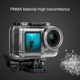 Sheingka Underwater Waterproof Housing Case for DJI Osmo Action - FLW306 - Black - 6