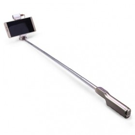Noosy Night Sky Selfie Stick with Bluetooth Remote Shutter, LED Light and Back Mirror - BR13 - Golden - 3