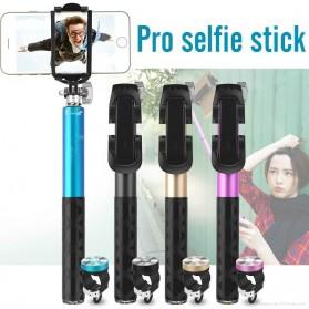Noosy Pro Selfie Stick with Bluetooth Remote Shutter - BR0802 - Black - 3