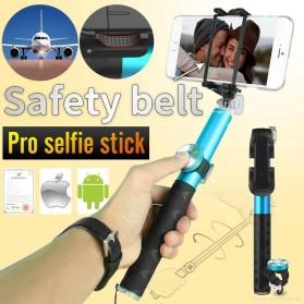 Noosy Pro Selfie Stick with Bluetooth Remote Shutter - BR0802 - Black - 4