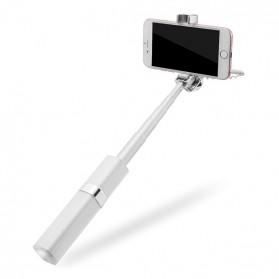 Noosy Lipstik Selfie Stick with Wired Shutter - BR14 - Pink - 4