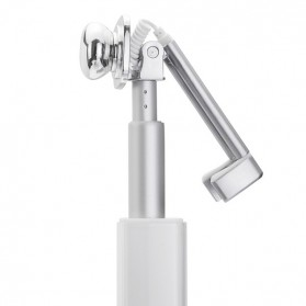 Noosy Lipstik Selfie Stick with Wired Shutter - BR14 - Pink - 8