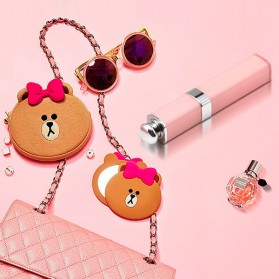 Noosy Lipstik Selfie Stick with Wired Shutter - BR14 - Pink - 11