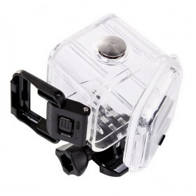 Waterproof Case 45m for GoPro Hero 4 Session & 5 Session - XZR - Black - 3