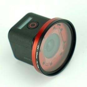 Frame Adapter Ring for CPL / UV Lens GoPro Hero 4 Session - Black - 5