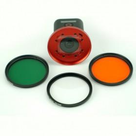 Frame Adapter Ring for CPL / UV Lens GoPro Hero 4 Session - Black - 7