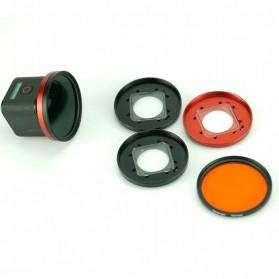 Frame Adapter Ring for CPL / UV Lens GoPro Hero 4 Session - Black - 8