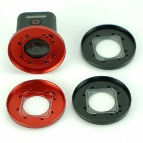 Frame Adapter Ring for CPL / UV Lens GoPro Hero 4 Session - Black - 9