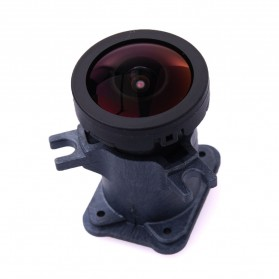 Lensa Replacement 1600W 170 Degree Wide Angle for GoPro Hero 3/3+/4 - Black