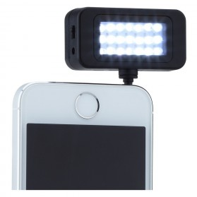 Instant Pro Universal 21 LED Flash Spotlight for Smartphone - HS-SGD01 - Black - 2