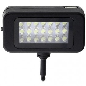 Instant Pro Universal 21 LED Flash Spotlight for Smartphone - HS-SGD01 - Black - 3