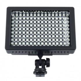 Lampu Flash Kamera DSLR Nikon Canon Sony 126 LED - HD-126 - Black