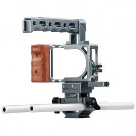 Sevenoak Cage Kit for Blackmagic Pocket Cinema Camera - SK-BPC10 - Silver