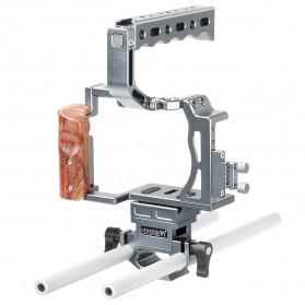 Sevenoak Cage Kit for Sony A7 / A7S / A7R Camera - SK-A7C1 - Silver