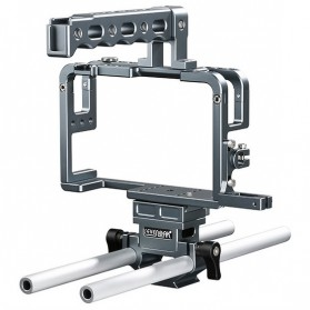 Sevenoak Cage Kit for Panasonic Lumix DMC-GH3 / GH4 Camera - SK-GHC20 - Silver