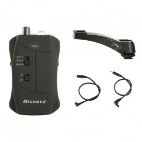 Micnova 3 in 1 Lightning Sound and Motion Sensor Trigger for Canon with Camera Handle - MQ-VTC - Black