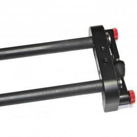 Sevenoak Carbon Fiber Slider Light 80cm - SK-CFS80 - Black - 5