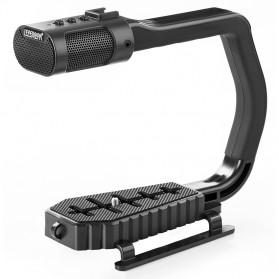 Sevenoak MicRig Video Camera Grip with Built-in Stereo Mic - Black
