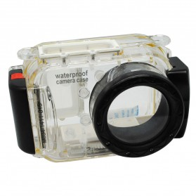 Meikon Waterproof Camera Case for Universal Camera - Black