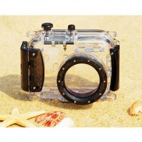 Meikon Waterproof Camera Case for Universal Camera - Black - 2