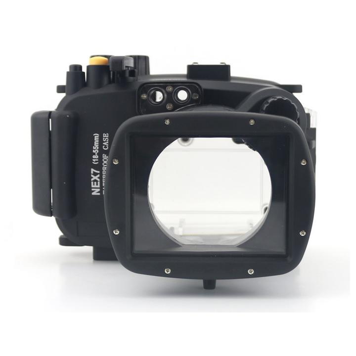 Meikon waterproof camera case for sony nex 7 black 1
