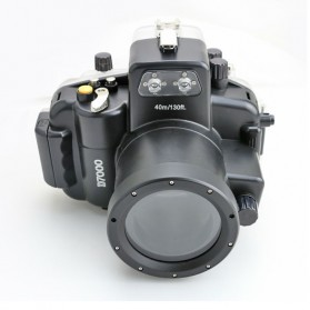 Meikon Waterproof Camera Case for Nikon D7000 - Black - 3