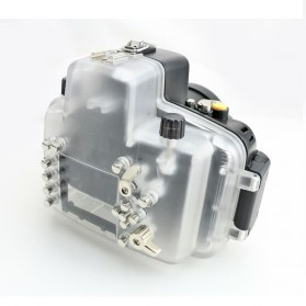 Meikon Waterproof Camera Case for Nikon D7000 - Black - 4