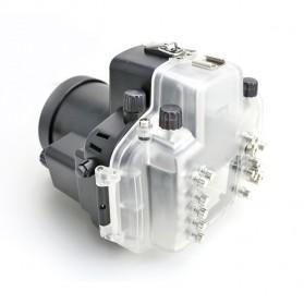 Meikon Waterproof Camera Case for Nikon D7000 - Black - 5