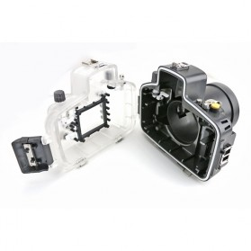 Meikon Waterproof Camera Case for Nikon D7000 - Black - 6