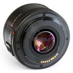 YONGNUO 50mm F/1.8 Lens Large Aperture AF MF - Black - 2