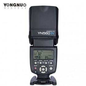 YONGNUO YN560IV Speedlite Flash 2.4G Wireless for Canon Sony Nikon - Black