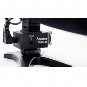 Aputure V-Mic D2 Directional Condenser Shotgun Microphone - Black - 5