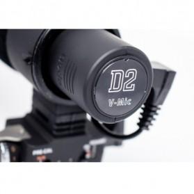 Aputure V-Mic D2 Directional Condenser Shotgun Microphone - Black - 6