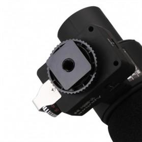 Aputure V-Mic D2 Directional Condenser Shotgun Microphone - Black - 7