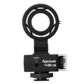 Aputure V-Mic D2 Directional Condenser Shotgun Microphone - Black - 8