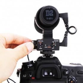 Aputure V-Mic D2 Directional Condenser Shotgun Microphone - Black - 11