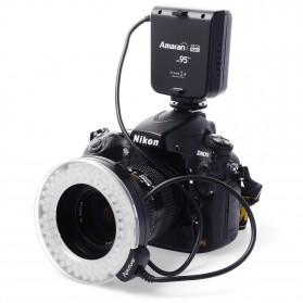 Aputure Halo CRI 95+ LED Flash Ring for Nikon Camera - AHL-HN100 - Black - 3