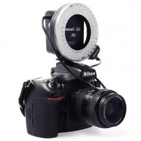 Aputure Halo CRI 95+ LED Flash Ring for Nikon Camera - AHL-HN100 - Black - 4