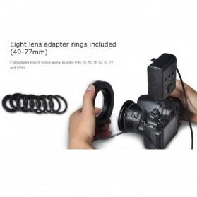 Aputure Halo CRI 95+ LED Flash Ring for Nikon Camera - AHL-HN100 - Black - 6