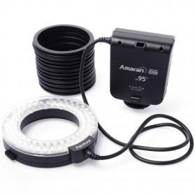 Aputure Halo CRI 95+ LED Flash Ring for Nikon Camera - AHL-HN100 - Black - 8