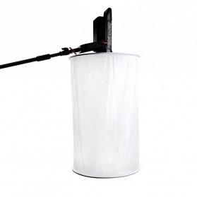 Aputure Space Light Flash Reflector Bowen Mount for LS C120 300D - White - 3