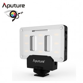 Aputure Tiny Lampu Flash Kamera Universal 9 SMD LED CRI 95+ - AL-M9 - Black
