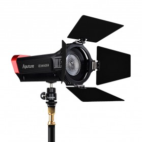 Aputure Light Strom LS-mini 20 DDC Flight Kit 3 PCS with Light Stand - Black - 2