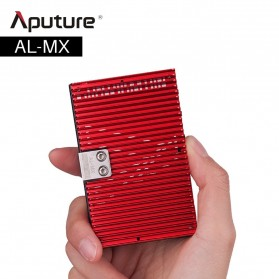 Aputure Amaran Pocket Size LED Panel Video Light - AL-MX - Black