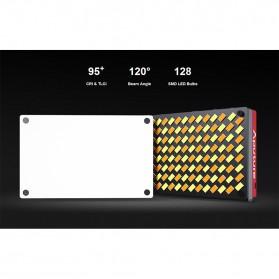 Aputure Amaran Pocket Size LED Panel Video Light - AL-MX - Black - 6