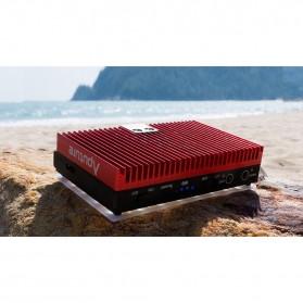 Aputure Amaran Pocket Size LED Panel Video Light - AL-MX - Black - 8