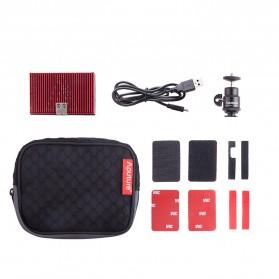 Aputure Amaran Pocket Size LED Panel Video Light - AL-MX - Black - 9