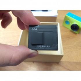Taffware Baterai Xiaomi Yi 1010 mAh - Black - 5