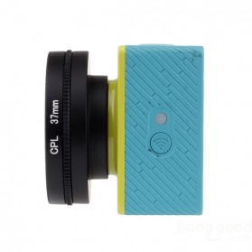 CPL Filter Lens Accessory 37mm for Xiaomi Yi - Black - 3