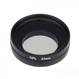 CPL Filter Lens Accessory 37mm for Xiaomi Yi - Black - 4